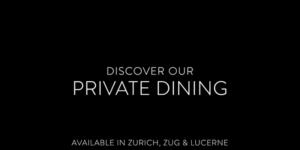 Private Dining Le Bijou