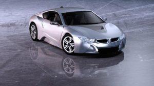 BMW i8 als Symbolik für Fortschritt und Technik