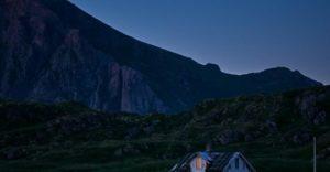Haus und Berg