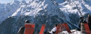 Schweizer Tourismus, Liegestühle und Berge