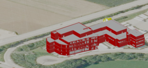 3D Modellierung Fabrik