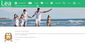 Lea Homepage
