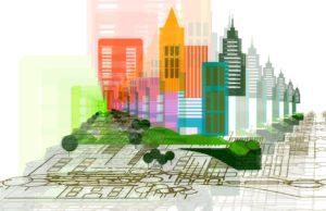 Architektur und 3D City