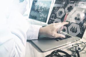 Medizin Daten Computer Beurteilung