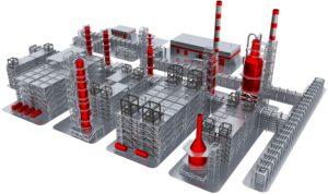 3D Modellierung Maschine