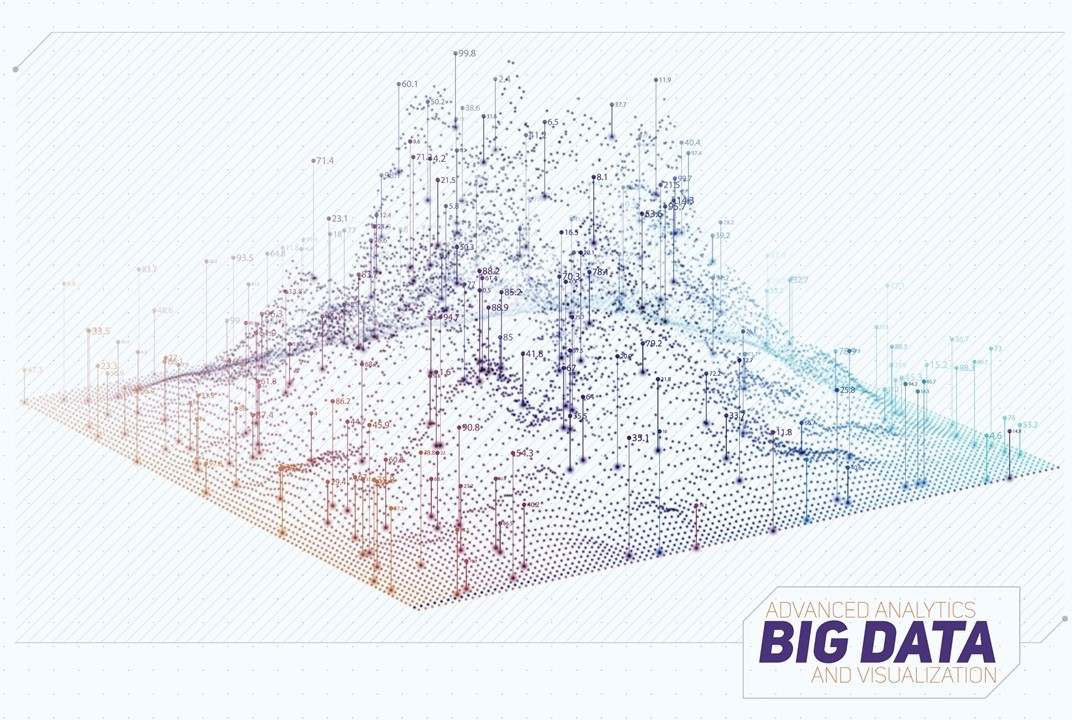 Big Data Berg Zahlen