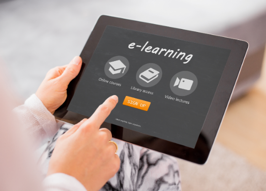 e-learning Ipad