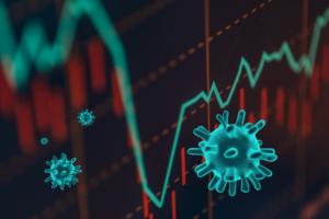 Börse und Virus